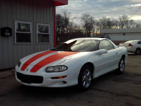 2002 Chevrolet Camaro for sale at Midwest Auto & Truck 2 LLC in Mansfield OH