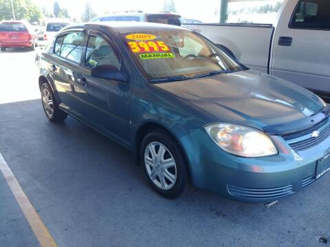 2009 Chevrolet Cobalt for sale at Low Auto Sales in Sedro Woolley WA