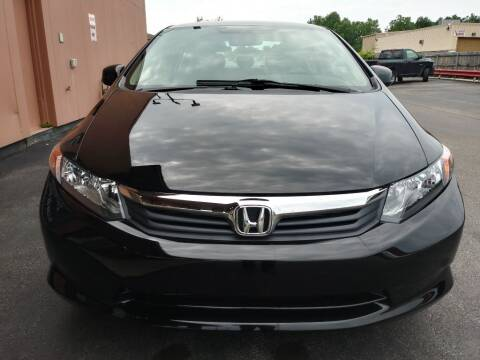 2012 Honda Civic for sale at ENZO AUTO in Parma OH