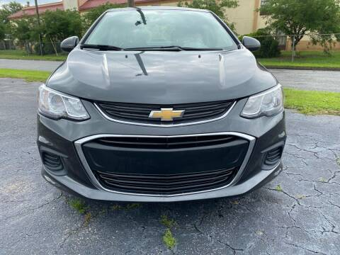 2017 Chevrolet Sonic for sale at Greenville Motor Company in Greenville NC