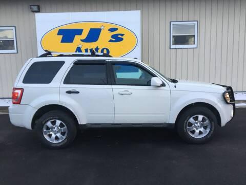 2009 Ford Escape for sale at TJ's Auto in Wisconsin Rapids WI