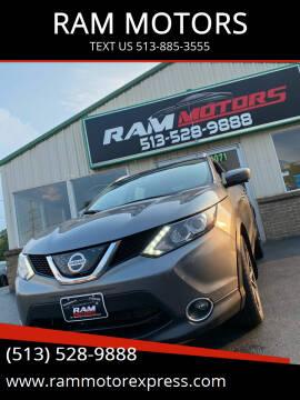 2018 Nissan Rogue Sport for sale at RAM MOTORS in Cincinnati OH
