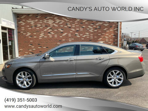 2017 Chevrolet Impala for sale at Candy's Auto World Inc in Toledo OH