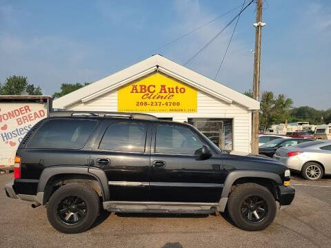 2003 Chevrolet Tahoe for sale at ABC AUTO CLINIC CHUBBUCK in Chubbuck ID