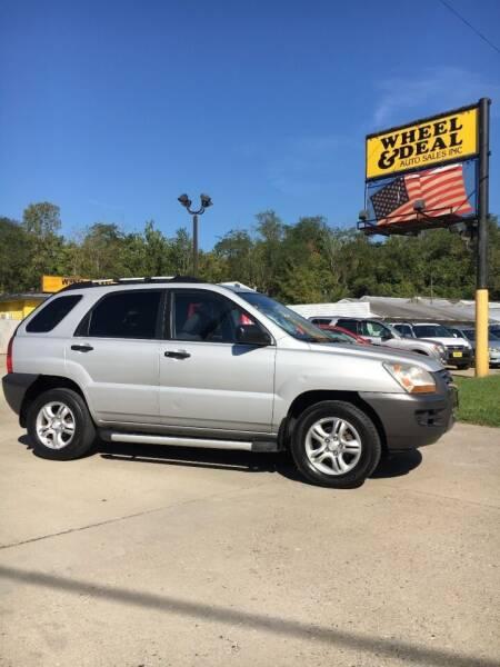 2008 Kia Sportage for sale at Wheel & Deal Auto Sales Inc. in Cincinnati OH
