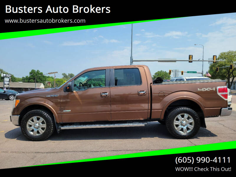 2011 Ford F-150 for sale at Busters Auto Brokers in Mitchell SD