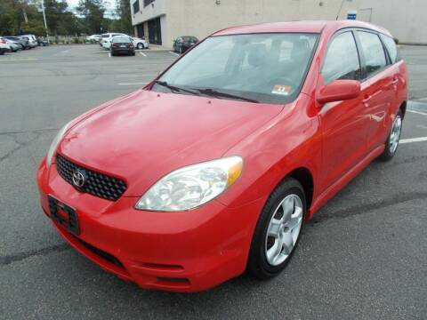 2004 Toyota Matrix for sale at Mercury Auto Sales in Woodland Park NJ