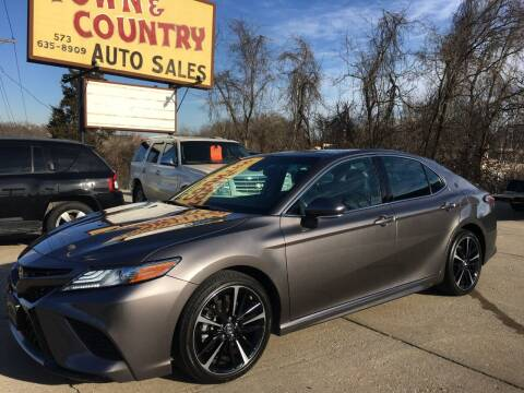 2018 Toyota Camry for sale at Town and Country Auto Sales in Jefferson City MO