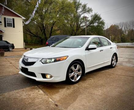 2012 Acura TSX for sale at Unique LA Motor Sales LLC in Byrnes Mill MO