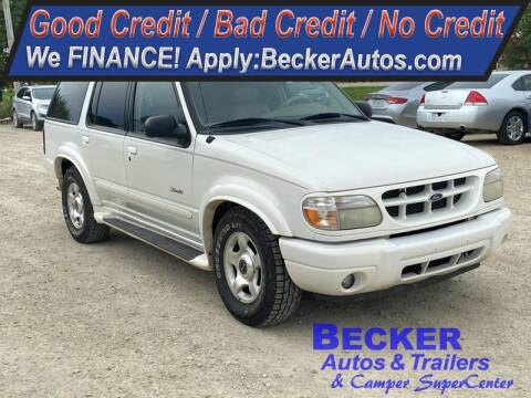 2001 Ford Explorer for sale at Becker Autos & Trailers in Beloit KS
