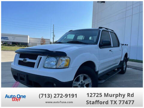 2005 Ford Explorer Sport Trac for sale at Auto One USA in Stafford TX