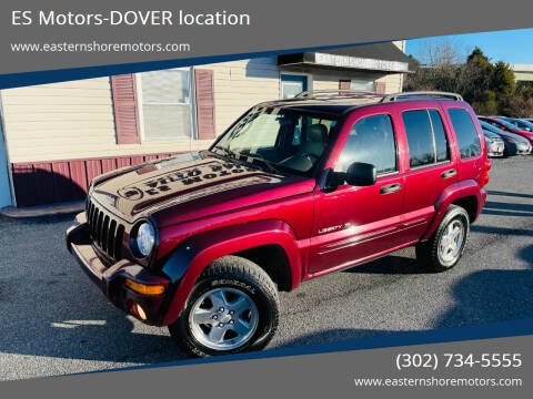 2003 Jeep Liberty for sale at ES Motors-DAGSBORO location - Dover in Dover DE