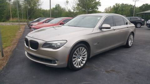 2012 BMW 7 Series for sale at Ridgeway's Auto Sales in West Frankfort IL