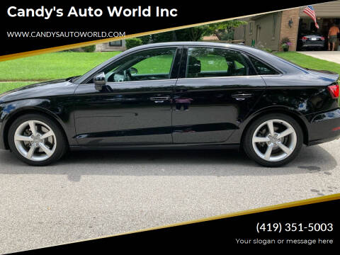 2016 Audi A3 for sale at Candy's Auto World Inc in Toledo OH