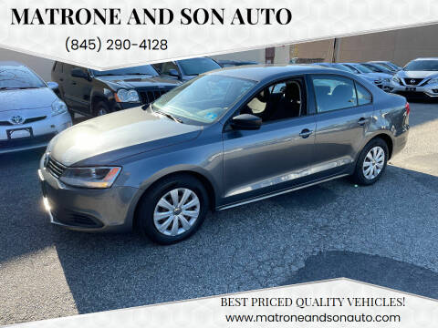 2011 Volkswagen Jetta for sale at Matrone and Son Auto in Tallman NY