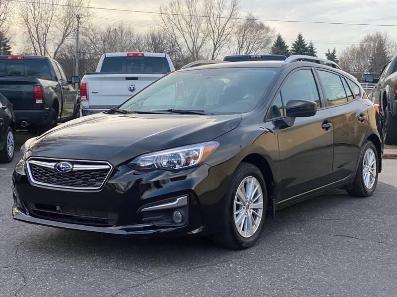 2017 Subaru Impreza for sale at North Imports LLC in Burnsville MN