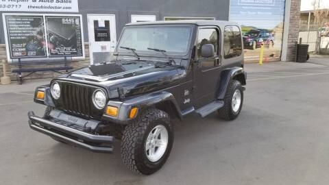 2004 Jeep Wrangler for sale at The Subie Doctor in Denver CO