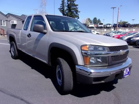 2008 Chevrolet Colorado for sale at Delta Auto Sales in Milwaukie OR