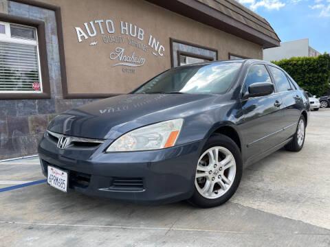 2006 Honda Accord for sale at Auto Hub, Inc. in Anaheim CA