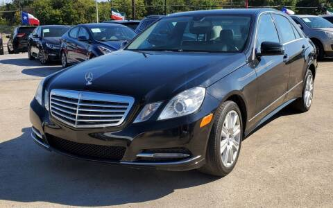 2013 Mercedes-Benz E-Class for sale at International Auto Sales in Garland TX