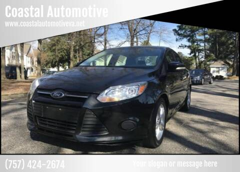 2014 Ford Focus for sale at Coastal Automotive in Virginia Beach VA