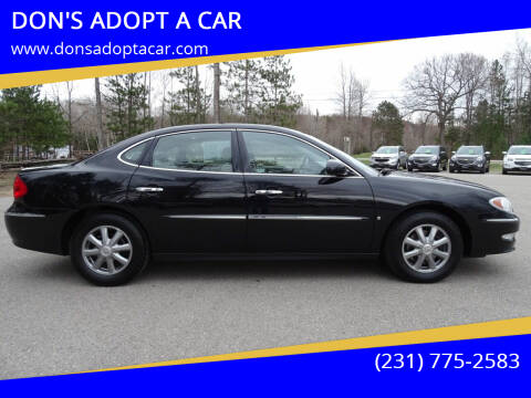 2009 Buick LaCrosse for sale at DON'S ADOPT A CAR in Cadillac MI