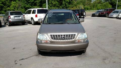 2002 Lexus RX 300 for sale at DISCOUNT AUTO SALES in Johnson City TN