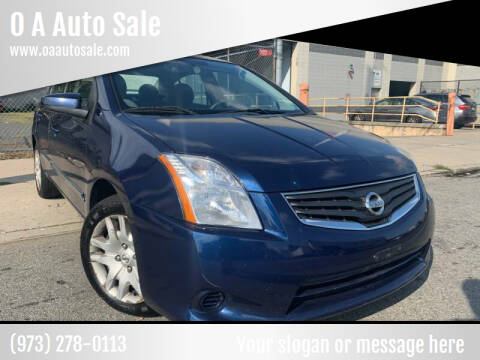 2012 Nissan Sentra for sale at O A Auto Sale - O & A Auto Sale in Paterson NJ