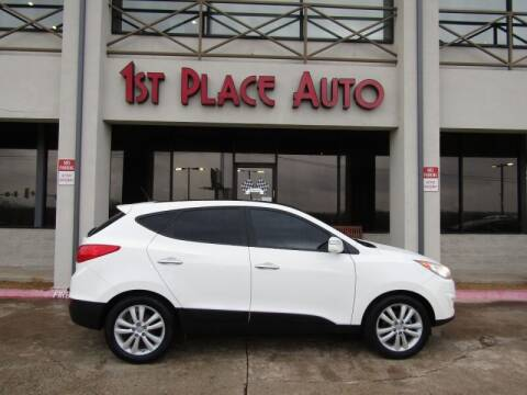 2011 Hyundai Tucson for sale at First Place Auto Ctr Inc in Watauga TX