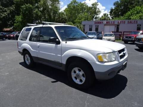 2001 Ford Explorer Sport for sale at DONNY MILLS AUTO SALES in Largo FL
