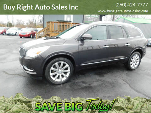 2014 Buick Enclave for sale at Buy Right Auto Sales Inc in Fort Wayne IN