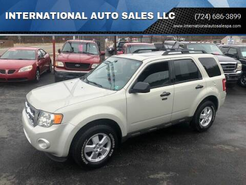 2009 Ford Escape for sale at INTERNATIONAL AUTO SALES LLC in Latrobe PA