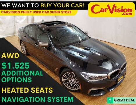 2018 BMW 5 Series for sale at Car Vision Mitsubishi Norristown - Car Vision Philly Used Car SuperStore in Philadelphia PA