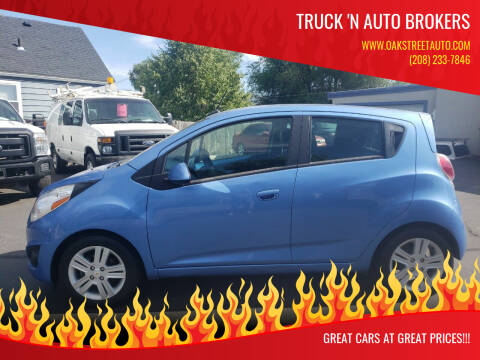 2014 Chevrolet Spark for sale at Truck 'N Auto Brokers in Pocatello ID