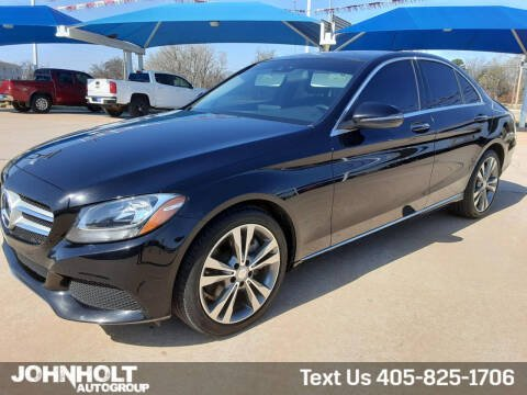 2016 Mercedes-Benz C-Class for sale at JOHN HOLT AUTO GROUP, INC. in Chickasha OK