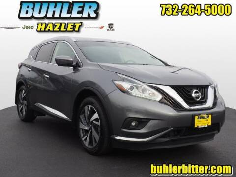 2018 Nissan Murano for sale at Buhler and Bitter Chrysler Jeep in Hazlet NJ
