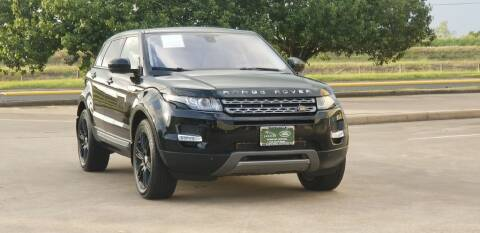 2015 Land Rover Range Rover Evoque for sale at America's Auto Financial in Houston TX