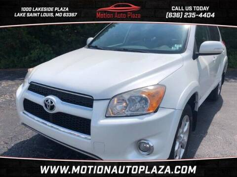 2010 Toyota RAV4 for sale at Motion Auto Plaza in Lakeside MO