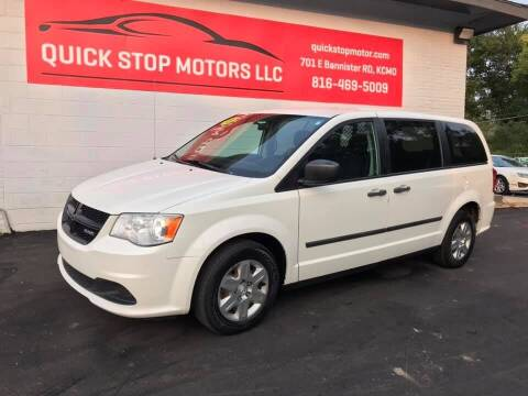 2013 RAM C/V for sale at Quick Stop Motors in Kansas City MO