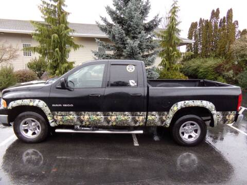 2005 Dodge Ram Pickup 1500 for sale at Signature Auto Sales in Bremerton WA