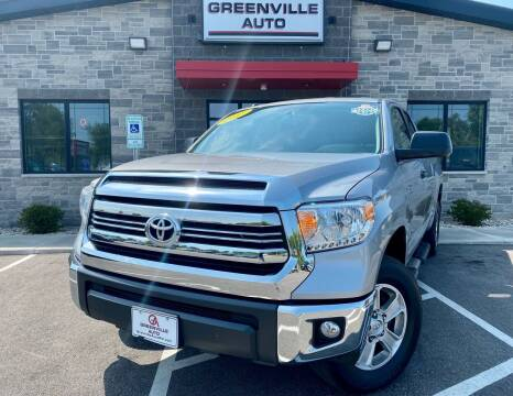 2017 Toyota Tundra for sale at GREENVILLE AUTO in Greenville WI