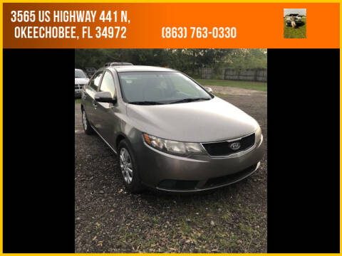 2010 Kia Forte for sale at M & M AUTO BROKERS INC in Okeechobee FL