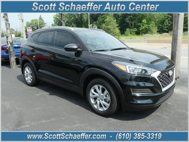 2020 Hyundai Tucson for sale at Scott Schaeffer Auto Center in Birdsboro PA