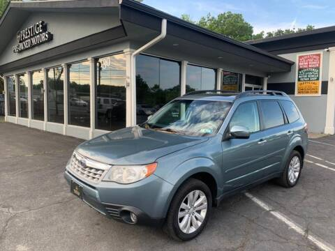 2012 Subaru Forester for sale at Prestige Pre - Owned Motors in New Windsor NY