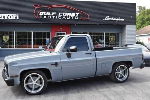 1985 Chevrolet C/K 10 Series for sale at Gulf Coast Exotic Auto in Biloxi MS