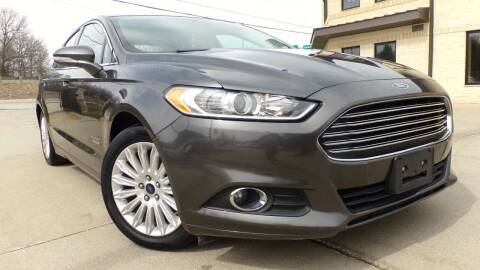 2016 Ford Fusion Energi for sale at Prudential Auto Leasing in Hudson OH