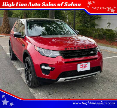2015 Land Rover Discovery Sport for sale at High Line Auto Sales of Salem in Salem NH
