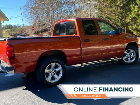 2007 Dodge Ram Pickup 1500 for sale at Paramount Autosport in Kennesaw GA