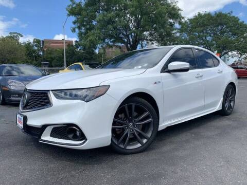 2019 Acura TLX for sale at Sonias Auto Sales in Worcester MA