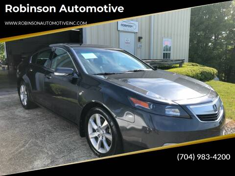 2012 Acura TL for sale at Robinson Automotive in Albemarle NC